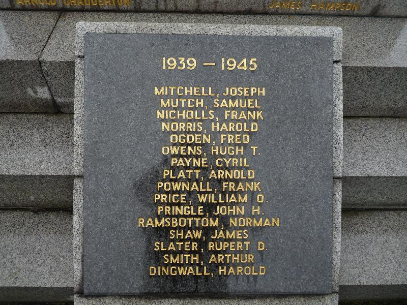 War Memorials - Show Memorial Images and names